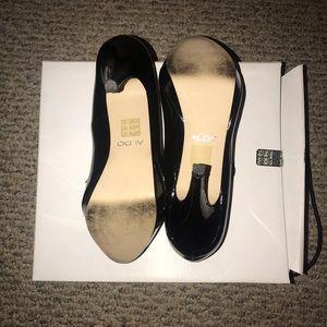 Aldo Shoes - Aldo Kenzie Black Patent Leather Heels
